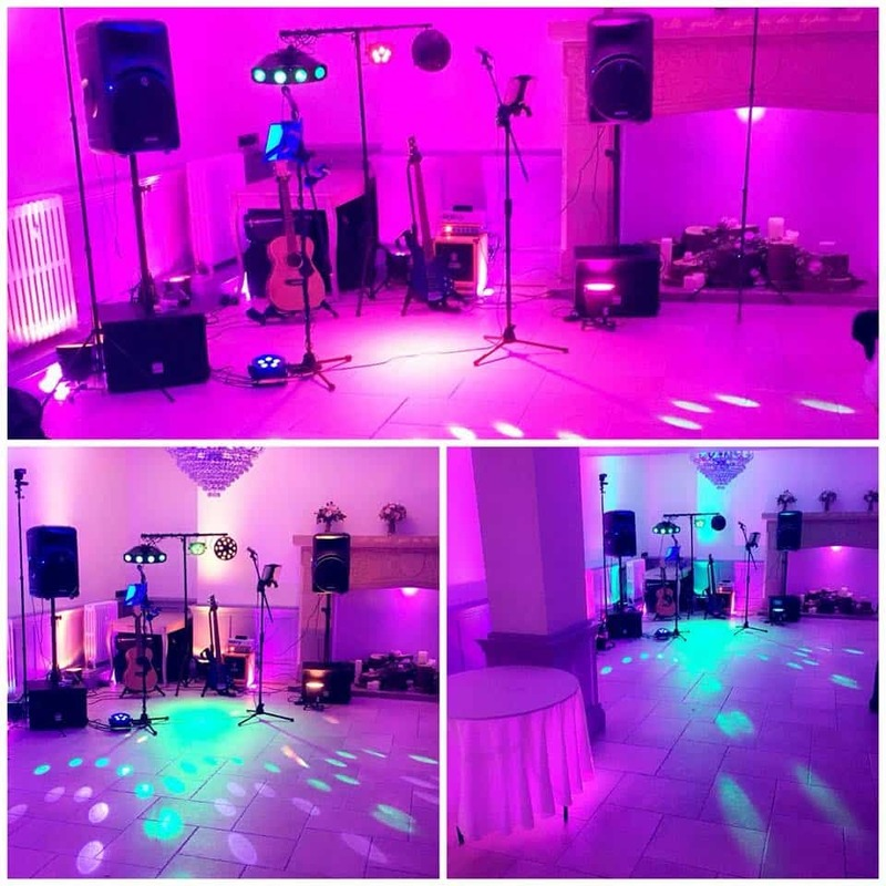 Wedding DJ Disco With Lighting, Solo Acoustic